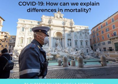 COVID-19: How can we explain differences in mortality?